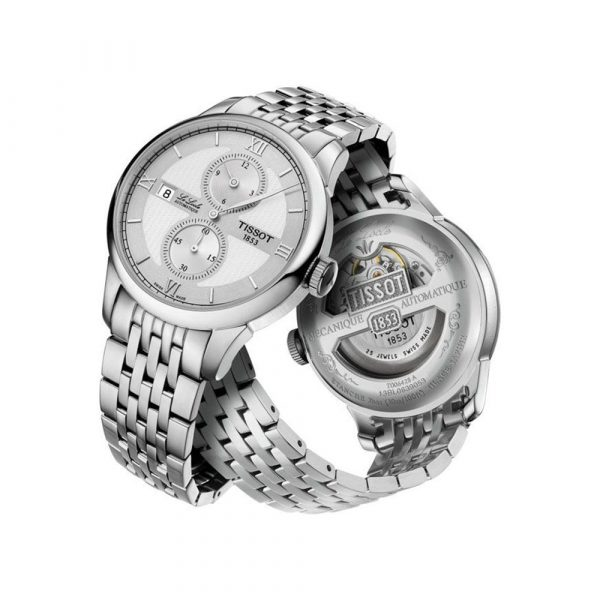 Le Locle Silver Automatic T0064281103802