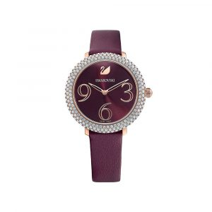 Crystal Frost Rose Gold Dây Da 5484064