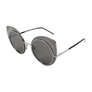 Cat Eye Silver Gray MJ15-S V81NR 62-19-140