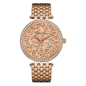 CARAVELLE-NEW-YORK-CRYSTAL-ROSE-GOLD-44L236