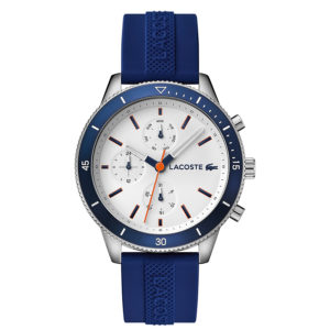 dong ho nam lacoste silicone navy nyxwatch