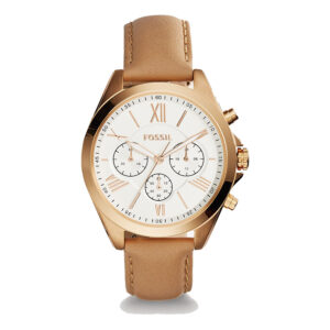 dong ho nu fossil modern courier rose gold day da BQ1751-2